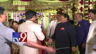 Bharathi Cement director Ravinder Reddy's Daughter Shruthi wedding ceremony