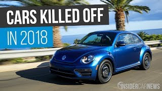 10 Cars Being Killed Off After 2018 — Discontinued Cars