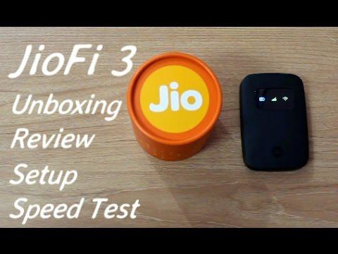 JioFi 3 Jio 4G WiFi Router & Hotspot Unboxing I Review I Setup I Speed Test