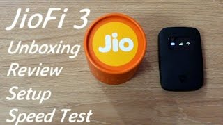 JioFi 3 Jio 4G WiFi Router & Hotspot Unboxing I Review I Setup I Speed Test
