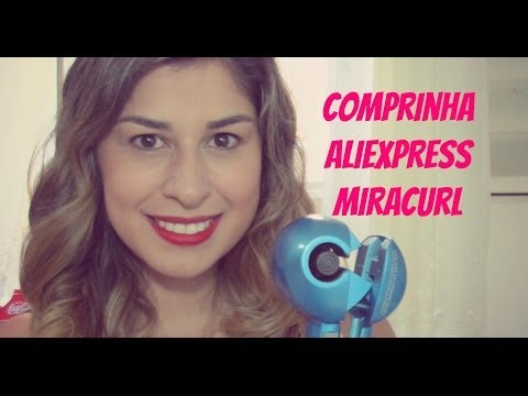 Comprinha Aliexpress - Miracurl Nano Titanium Baby Liss Pro