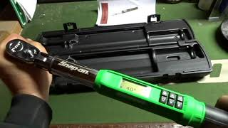 All New Snap-On Tech Angle Torque Wrench