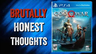 The Greatest Game I Almost Never Played | Brutally Honest Thoughts ( God Of War)