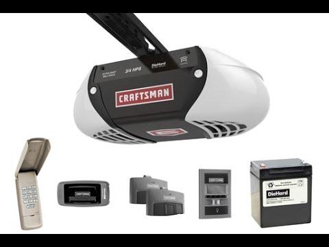 Free Download Program Craftsman 3 4 Hp Belt Drive Garage