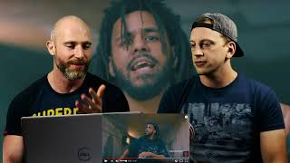 J. Cole - Album Of The Year (Freestyle) METALHEAD REACTION TO HIP HOP!!