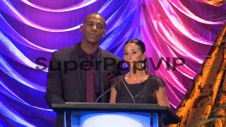 SPEECH - Mehcad Brooks, Emmanuelle Chriqui at the 2013 En...