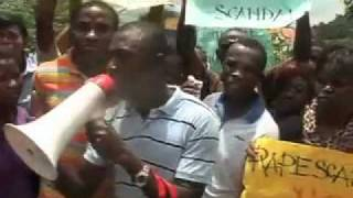 Gang-rape video ........ ABSU Students Demonstrate over rape Accusation