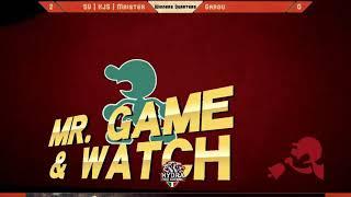 WF|SW Garou (Mario/Marth) vs KJS|RF Maister (Mr G&W/Bowser) - Hail Smash X - Winners Quarter Final