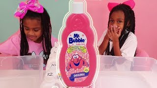 Don't Choose The Wrong Mr. Bubbles Bubble Bath SLIME