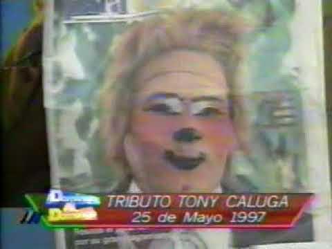 ultimo homenaje tony caluga parte 1 www.circotonycaluga.cl