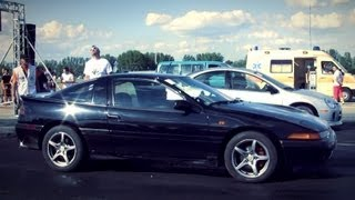 Chrysler Neon SRT Vs. Eagle Talon AWD Turbo Drag Race HD