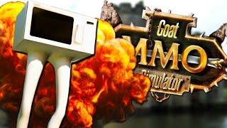 MICROWAVE GOAT | Goat MMO Simulator #2