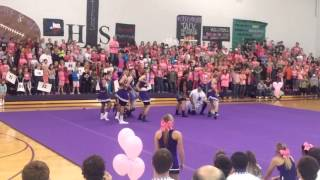 Tolar Football Senior Boys - Cheer 2015
