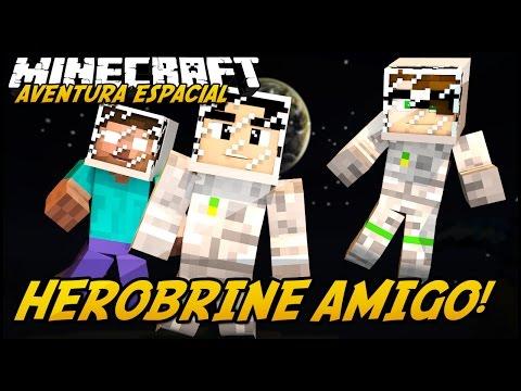 Minecraft: AVENTURA ESPACIAL - HEROBRINE AMIGO?! #3