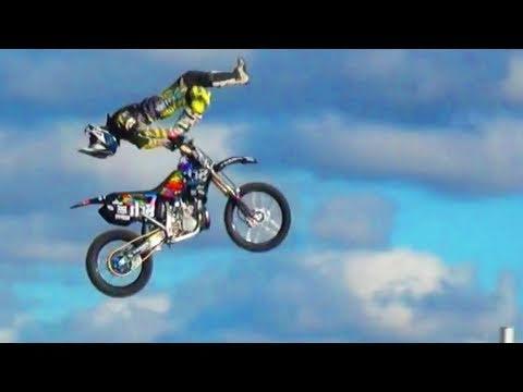 Big Air Motocross Freestyle Jumps - MotoX Extreme Stunts FMX Freestyle Motocross Backflip Tricks