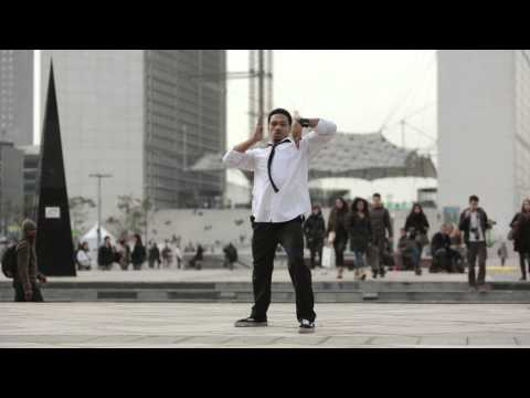 YLYK Dance Videos - CREESTO Popping at La Defense | YAK FILMS