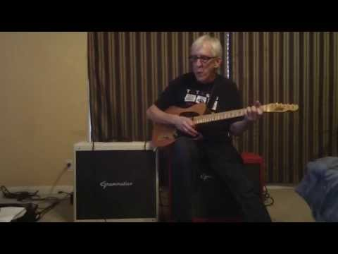 Bill Kirchen playing Sleep Walk through Grammatico Amps Kingsville