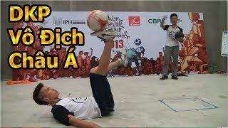 Thử Thách Bóng Đá Đỗ Kim Phúc vô địch Châu Á đánh bại Ronaldinho Việt Nam Tungage