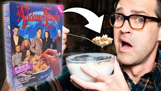 Discontinued Addams Family Cereal Taste Test