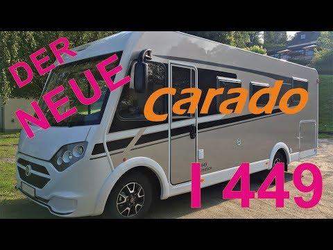 Der neue CARADO I449 | unser WOHNMOBIL-Test | Fahrzeugvorstellung | roomtour