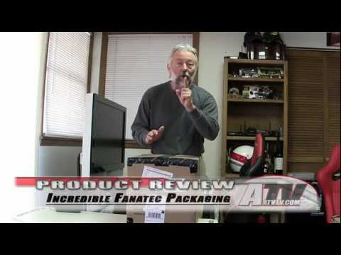Sim Racing Review - The Incredible Fanatec Packaging - We UnPack The CSR Elite Wheel