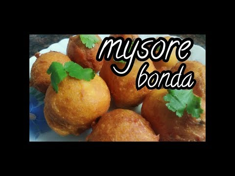 MYSORE BONDA  MYSORE BAJJI recipe-  tea time snack, monsoon recipe,