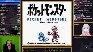 [WR] Pokemon Blue JPN any% glitchless in 1:50:27