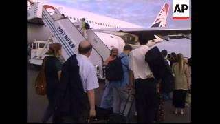 ERITREA: ASMARA: ETHIOPIAN PLANES BOMB AIRPORT
