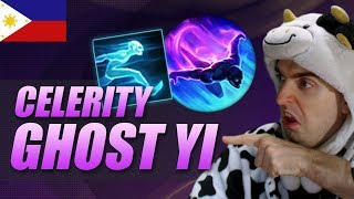GOING FAST WITH GHOST CELERITY MASTER YI - COWSEP