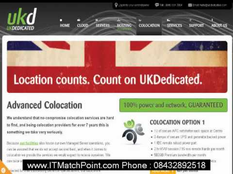 CHEAPEST Norwich Server Hosting COLOCATION Providers