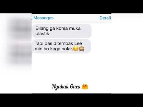 #Fake Chat Sindiran Kpop