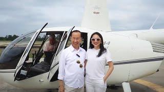 Francis Hùng - Dùng Trực Thăng Tham Quan Houston