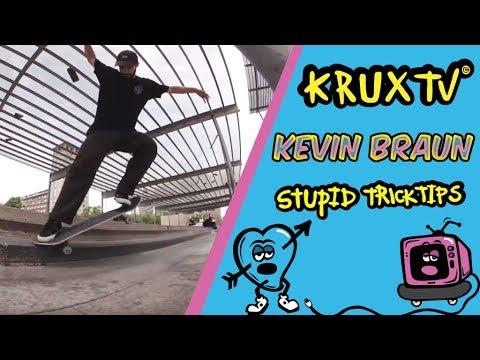 Stupid Trick Tip- Kevin Braun slappy crook 5050 shuv