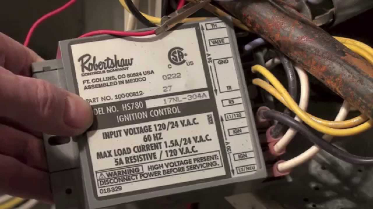 How The Rheem Rgda Ignition Control Works Youtube