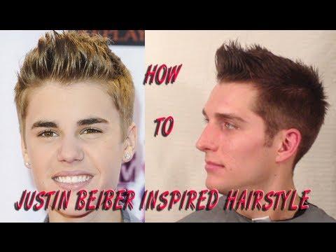 Justin Bieber Hairstyle Tutorial   Jesse Minty