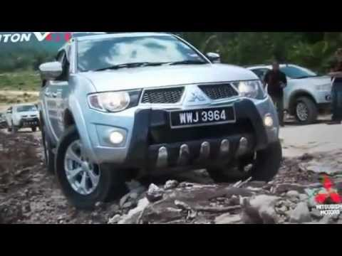 Mitsubishi Triton VGT Test Drive
