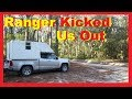 Kicked Out Of The National Forest RV Living Full Time / Van Life Nomad