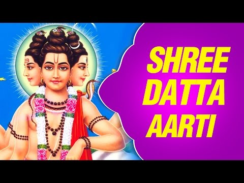 Shree Datta Aarti - Marathi Devotional Song With Lyrics video