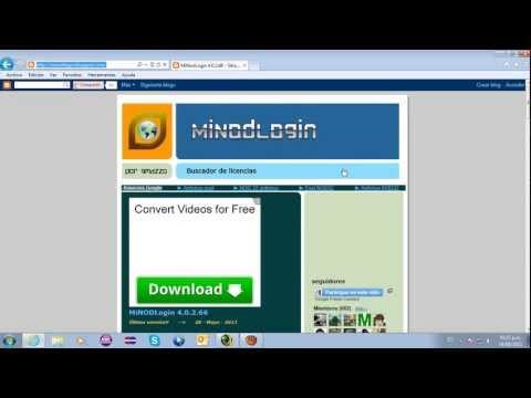 ANTIVIRUS ESET SMART SECURYTI 6 Y MINODLOGIN ACTUALIZADO 6-6-2013