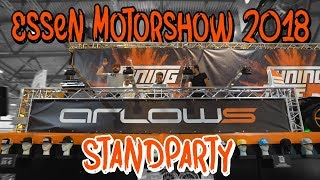 Essen Motorshow 2018 Arlows Standparty Aftermovie | Philipp Kaess |