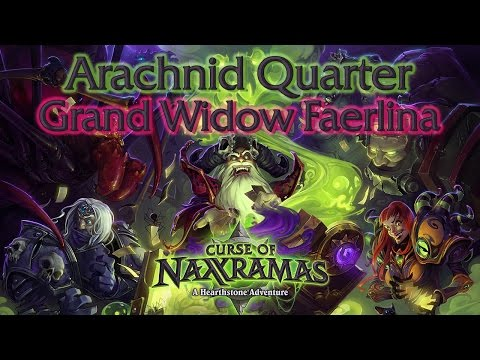Hearthstone - Curse of Naxxramas - Arachnid Quarter - Grand Widow Faerlina