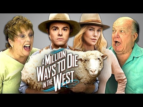 A Million Ways to Die in the West in theaters May 30th, 2014 NEW Vids Sun, Tues & Thurs! Subscribe: http://goo.gl/nxzGJv Watch all main React episodes (Kids/Teens/Elders/YouTubers): http://goo.gl/4...