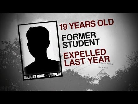 Police investigating Nikolas Cruz, suspect in Florida school shooting