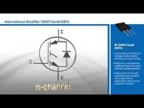 New This Week at Mouser Electronics –IR 1200V Gen8 IGBTs