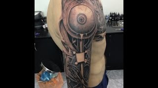 Tattoo 3D Biomechanical 2013 MADE In Vietnam.
