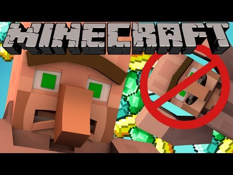 Why Villagers Arms are Connected - Minecraft