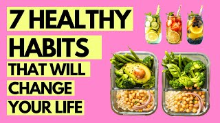 7 Healthy Habits to Live Your Healthiest Life | Fitness, Diet, Nutrition, and Mindset | Wellness 101