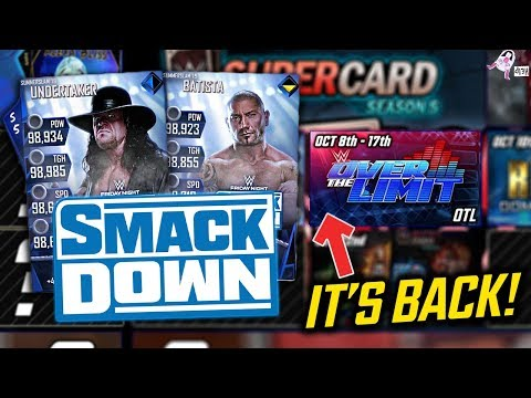 SPECIAL SMACKDOWN CARDS & HOW TO GET THEM!! THE ROAD TO SEASON 6 BEGINS! | WWE SuperCard