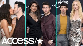 The Jonas Brothers Spill Details About Joe's Bachelor Party As Their Wives Steal Premiere Spotlight!