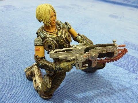 Игрушка солдат Gears of War 3 Anya Stroud 7